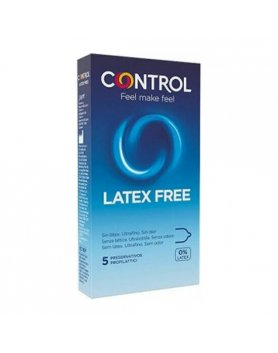 CONTROL LÁTEX FREE 5 UNIDADES VIBRASHOP