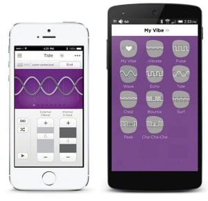 We Vibe vibrador Nova rosa con control a través de app