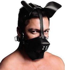 máscara BDSM en vibrashop
