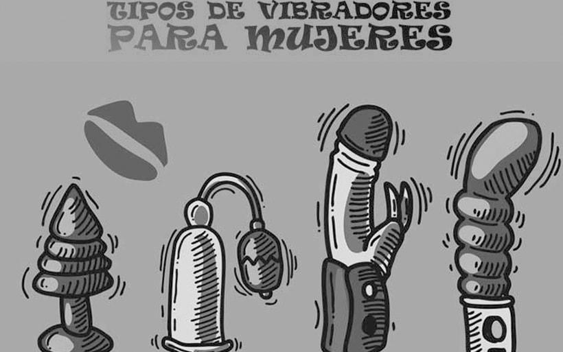 tipos de vibradores para mujeres