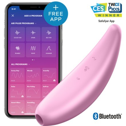 Satisfyer curvy 2 rosa